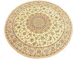 Round Persian Rug