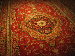 Red Persian Rug Over Four Thousand Types Of Carpets