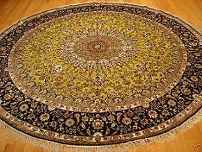 round persian rug, a buyer's guide to persian carpets