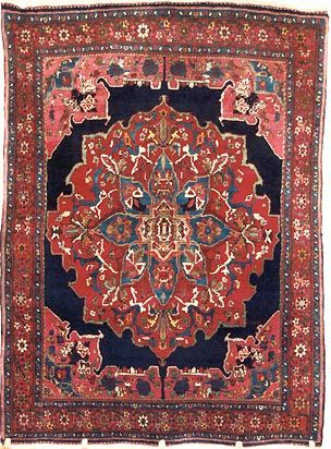 Antique Persian Oriental Rug