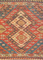 Old Usak Kilims Had Often Central Medallion And Red Background Color Some Of These Are As 5 Meter Square In The Recent Years