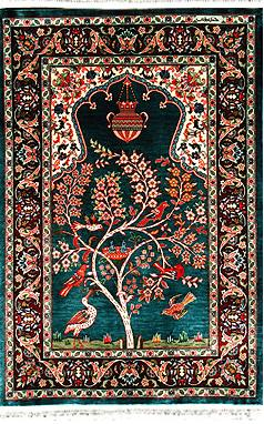 The Town Of Hereke Itself Was Elished A Mere 200 Years Ago By Sultans As Production Center For Ultimate Luxury All Silk Carpet